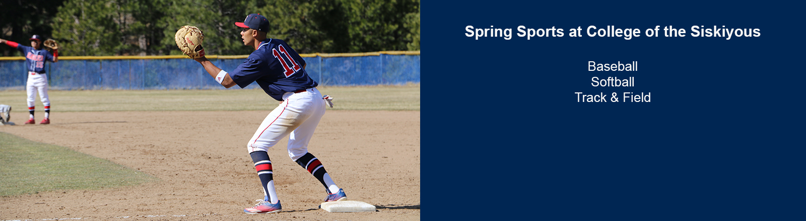 Spring Sports at College of the Siskiyous - Baseball, Softball, Track and Field